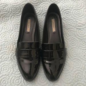 Zara Black Patent leather Loafers